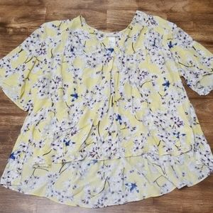 Ana Glover x H&M Floral & Fly Flowy Shirt
